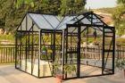 Växthus DELUX Proffs för trädgård eller gårdsbutiken 12,7m²